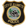 City of Jeannette Police Department Badge